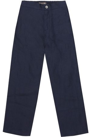 Loro Piana Linen straight pants
