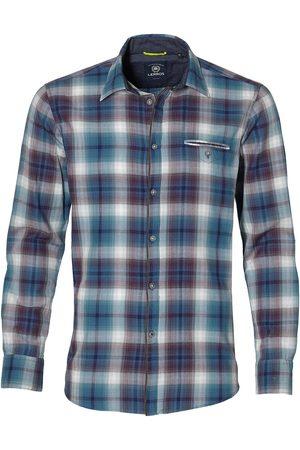 Lerros Heren Overhemden - Overhemd - Modern Fit - Petrol