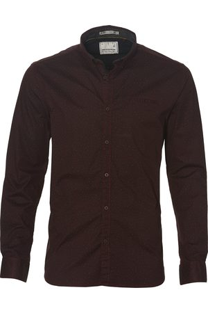No Excess Overhemd - Modern Fit - Bordo