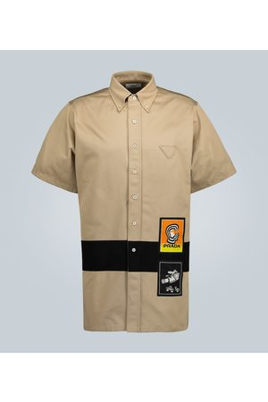 Prada Short-sleeved chino shirt