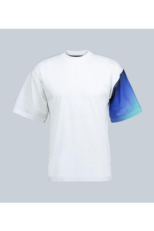 Prada Exclusive to Mytheresa – contrast-sleeve T-shirt