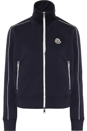 Moncler Technical-jersey track jacket