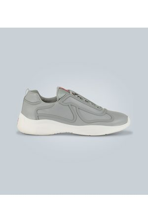 Prada Exclusive to Mytheresa - Leather sneakers