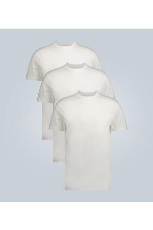 Prada Three pack cotton-jersey T-shirts