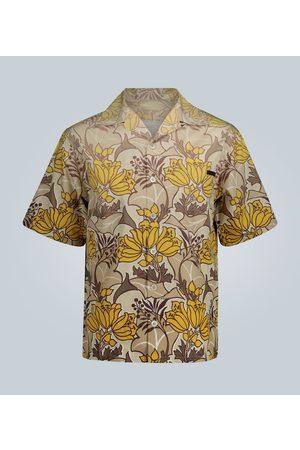 Prada Floral print short-sleeved shirt