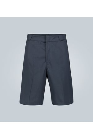 Prada Gabardine knee-length shorts