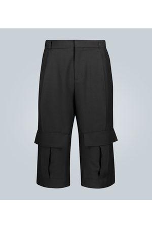 Loewe Wool cargo shorts