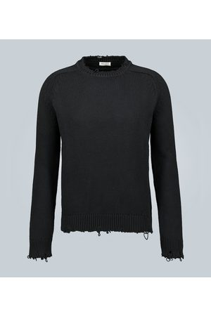 Saint Laurent Destroyed knit sweater