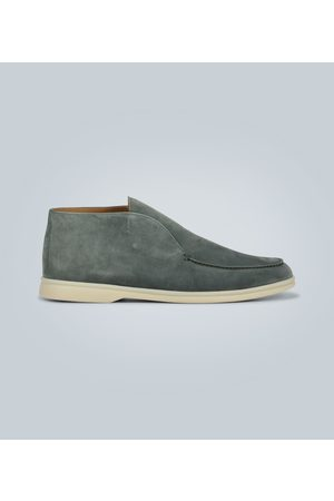 Loro Piana Open Walk suede shoes