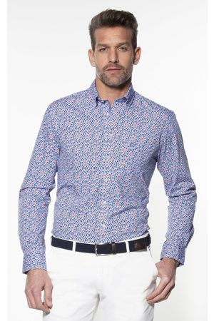 Campbell Heren Casual - Classic Casual Heren Overhemd LM