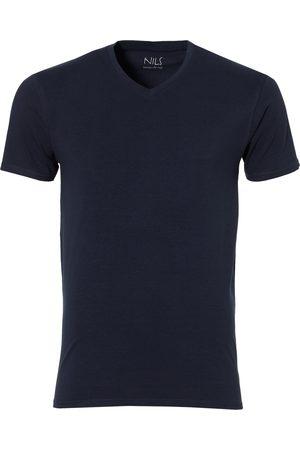 Nils Heren Shirts - T-shirt V-hals - Extra Lang