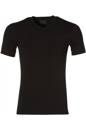 Nils Heren Shirts - T-shirt V-hals - Slim Fit