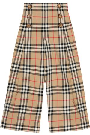 Burberry Tilda Vintage Check cotton pants