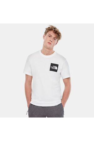 TheNorthFace Heren Shirts - The North Face Fine T-shirt Voor Heren Tnf White/tnf Black Größe L Men