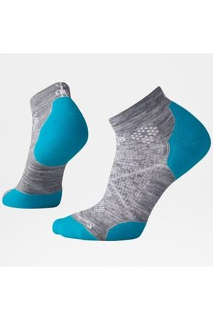 TheNorthFace Dames Sokken & Kousen - The North Face Phd Run Light Elite Low Cut Voor Dames Light Gray/capri Blue Größe L Women