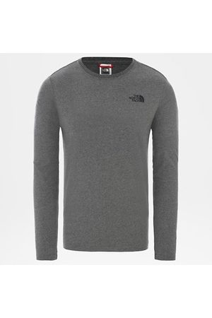 TheNorthFace Heren Lange mouw - The North Face Red Box-t-shirt Met Lange Mouwen Voor Heren Tnf Medium Grey Heather Größe L Men