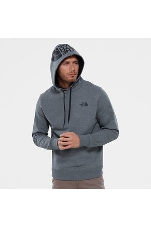 TheNorthFace The North Face Seasonal Drew Peak-hoody Voor Heren Tnf Medium Grey Heather/tnf Black Größe M Men