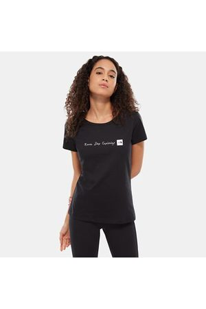 TheNorthFace The North Face Nse T-shirt Voor Dames Tnf Black/tnf White Größe L Women
