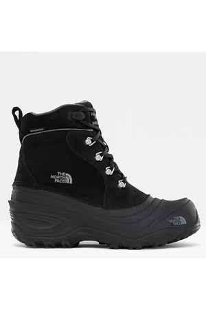 TheNorthFace Meisjes Hoge laarzen - The North Face Chilkat Lace Ii-laars Voor Jongeren Tnf Black/zinc Grey Größe 32 Unisex