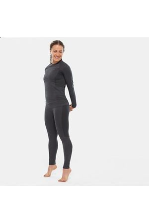 TheNorthFace Dames Leggings - The North Face Sportlegging Voor Dames Asphalt Grey/tnf Black Größe M/L Women