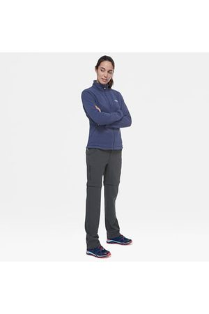 TheNorthFace Dames Broeken - The North Face Exploration Afritsbare Broek Voor Dames Asphalt Grey Größe 40 Lang Women