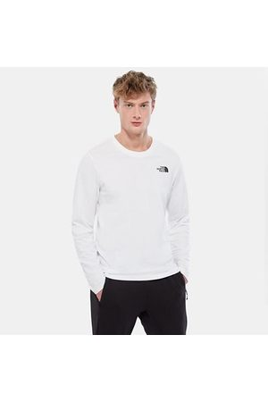 TheNorthFace Heren Lange mouw - The North Face Easy T-shirt Met Lange Mouwen Voor Heren Tnf White Größe L Men