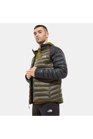 TheNorthFace Heren Donsjassen & Gewatteerde jassen - The North Face Trevail-donsjas Voor Heren New Taupe Green/tnf Black Größe L Men