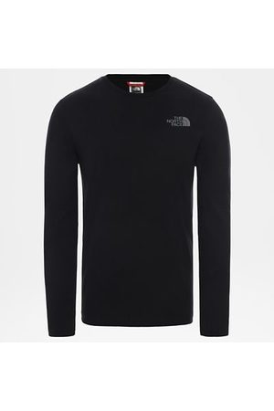 TheNorthFace The North Face Easy T-shirt Met Lange Mouwen Voor Heren Tnf Black/zinc Grey Größe L Men