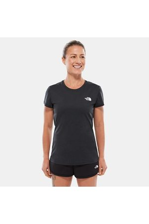 TheNorthFace The North Face Reaxion Ampere-t-shirt Voor Dames Tnf Black Heather Größe L Women