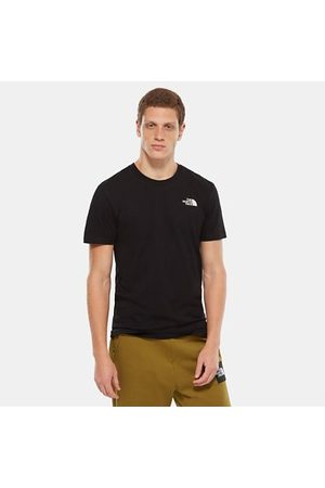 TheNorthFace The North Face Simple Dome T-shirt Voor Heren Tnf Black Größe L Men