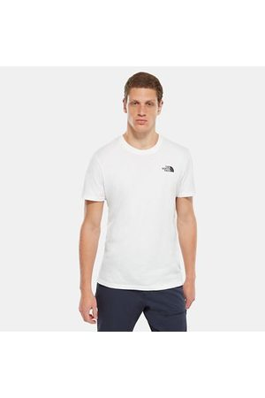 TheNorthFace Heren Shirts - The North Face Simple Dome T-shirt Voor Heren Tnf White Größe L Men