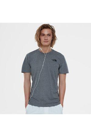 TheNorthFace Heren Shirts - The North Face Redbox-t-shirt Voor Heren Tnf Medium Grey Heather Größe L Men