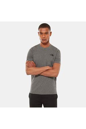 TheNorthFace Heren Shirts - The North Face Simple Dome T-shirt Voor Heren Tnf Medium Grey Heather Größe L Men