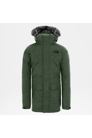 The North Face Heren Parka's - The North Face New Peak-donsparka Voor Heren New Taupe Green Größe L Heren