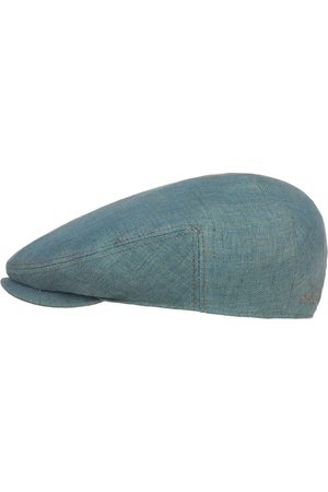 Stetson Woodfield Linen Flat Cap by