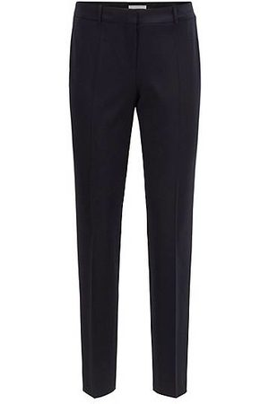 HUGO BOSS Slim-fit cropped broek