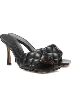 Bottega Veneta Quilted leather mules