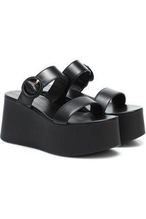 Gianvito Rossi Platform leather sandals