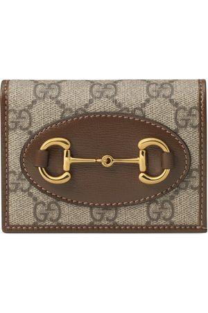 Gucci Dames Portemonnees - 1955 Horsebit card case wallet