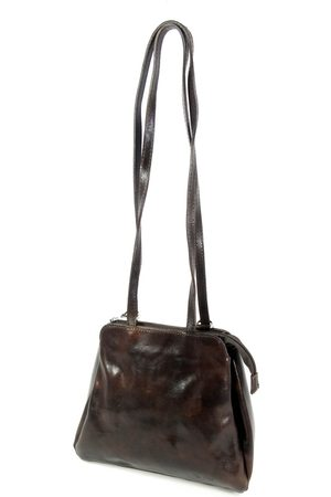 My Bag Dames Rugzakken - Leren dames rugzak shopper 3 vaks