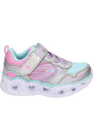 Skechers Meisjes Lage schoenen - Heart Lights klittenbandschoenen