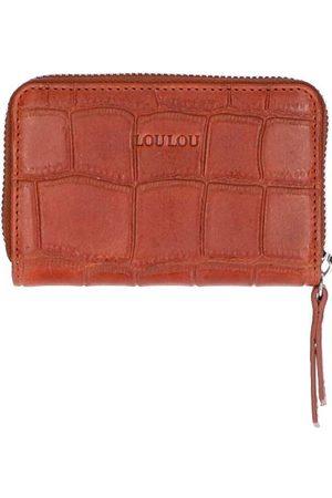 LOULOU Dames Handtassen - Portemonnees Portemonnee Vintage Croco
