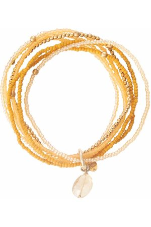 A Beautiful Story Armbanden Nirmala Citrine Gold Bracelet