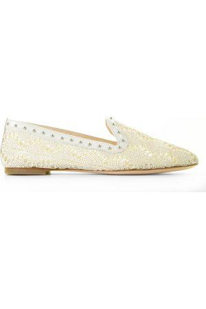 AGL ATTILIO GIUSTI LEOMBRUNI Dames Loafers - D554016PCKS064D788 Off-White/Silver