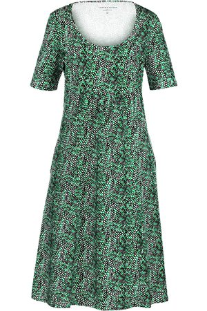 Green Cotton Dames Jerseyjurken - Jerseyjurk Van