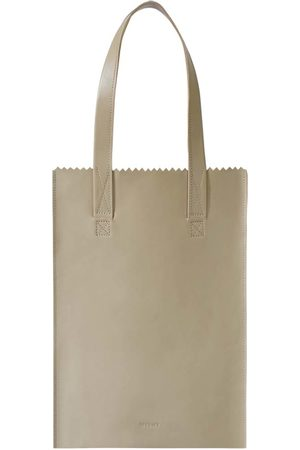 Myomy Schoudertas My Paper Bag Zipper Long Handles New
