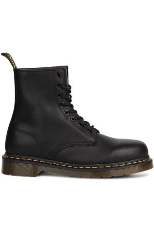 Dr. Martens 1460 black greasy boots