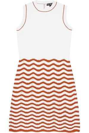 Loro Piana Wavy Water cotton and silk dress