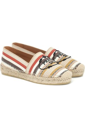 Prada Striped espadrilles