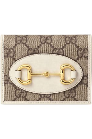 Gucci Dames Portemonnees - Horsebit 1955 card case wallet